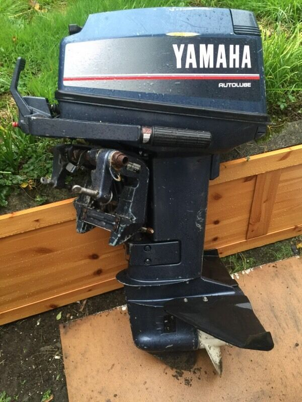 25hp 2 stroke outboard in pontarddulais swansea gumtree for 25hp yamaha 2 stroke