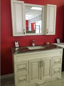 "48"" Vanity -VICTORIA SERIES - Quartz Countertop - Solid Wood London Ontario image 3"