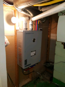 HOT WATER TANK & TANKLESS WATER HEATER INSTALLATION