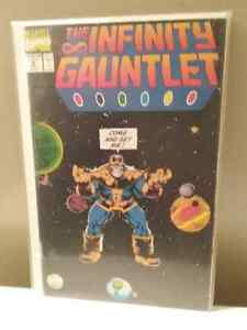 The Infinity Gauntlet #1-6 Marvel 1991 London Ontario image 4