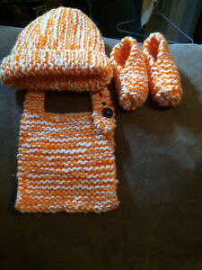 Knitted baby sets