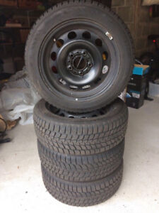 LT245/70R17 BRIDGESTONE BLIZZAK SET OF 4 USED TIRES 75% TREAD