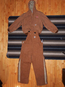 Carhartt FR Insulated Duck Bib Overalls & Duck Lined FR Jacket