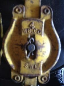 "1/2"" Rope block-hoist. Kitchener / Waterloo Kitchener Area image 3"