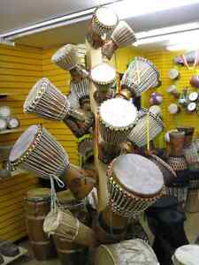 African Traditional musical instruments on Sale.