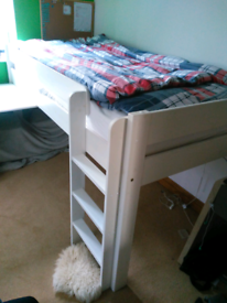 Stompa Bed with pull out desk