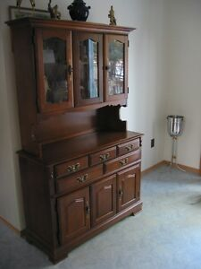 Buffet/Hutch/Display Cabinet REDUCED NOW $350.00