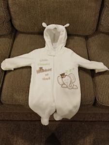 Baby Bell Fleece Outfit - Like New - 6 Months