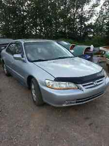 2002 Honda Accord 4 Door, Auto for trade
