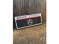 SEDDON ATKINSON FRONT GRILL £45