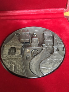 RUSSIA / THE CITY ´´MOSCOW KREMLIN´´ LARGE IRON MEDAL