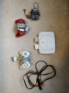Playstation PS One w/ 2 Controllers & Games