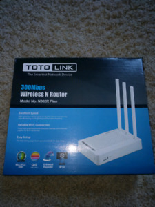 Wireless N Router (brand new never used)