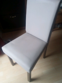 2x Faux Chairs