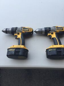 2 dewalt drills $50 each (2 available)