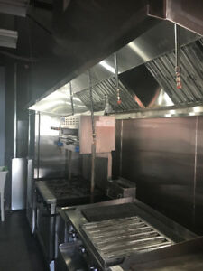 Restaurant Hood,Exhaust Fan,Fire Suppression installation & Sell