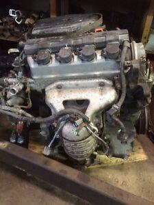 Honda Civic  motor and transmission