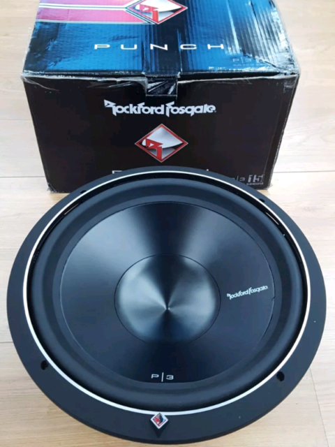"15"" Rockford P3D2-15 Subwoofer (NOT Alpine JBL Kicker JL Hifonics ) 
