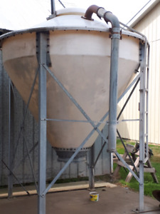 3 Ton Poly Hopper Bottom Tank