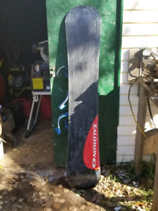 Salomon Snowboard and thirtytwo boots