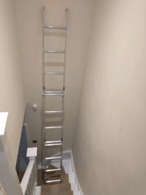 Aluminium loft ladders (up to 3m ceiling height)