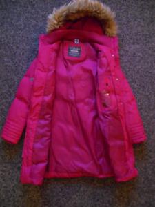 Manteau d'hiver rose