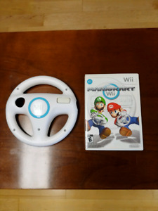 Wii Mario Kart with One Wheel