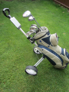 Womens RH Golf Set, Bag, Cart& more