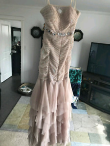 Ball gown prom dress. Size 11/12. Used.