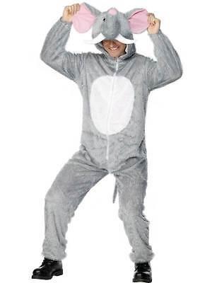Elefante Costume, Adulto Animal Costume, Animali e Insetti, Torace 96.5cm-102cm