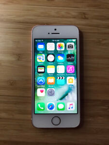 FACTORY UNLOCKED Rose Gold 16GB iPhone SE (A Condition)