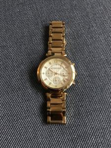 Gold-Tone Michael Kors Ladies Watch