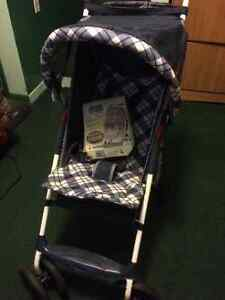 Stroller and Baby stuff Crib