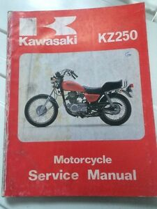 1980 1981 Kawasaki Factory KZ250 Service Manual