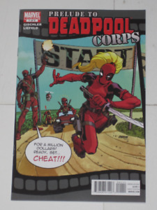 Marvel Comics Prelude to Deadpool Corps#1(2012) comic book