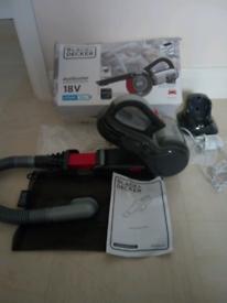 Vacuum Cleaner - Dust Buster 18 Volt - CORDLESS