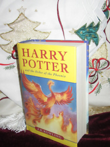 Harry Potter *NEW*NEVER READ* Order of the Phoenix Hardcover