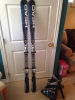 X frame Head skis/Nordica boots