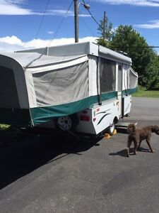 2009 12' Coleman tent trailer MUST GO ASAP