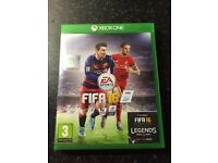 FIFA 16 Xbox one game used in good condition
