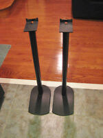 "31"" All Metal Speaker Stands"