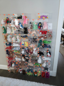 Full Collection of 212 Beanie Babies