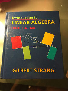 Introduction to Linear Algebra (Hardcover) Fourth Edition