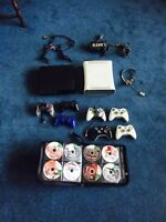 PS3 +12games and Xbox 360+ 21 games