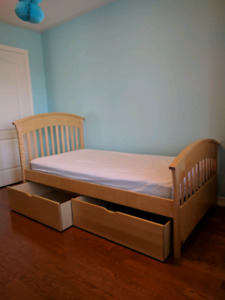 Children Bed and Dresser Solid Wood!