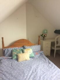Furnished Attic Room Near Town