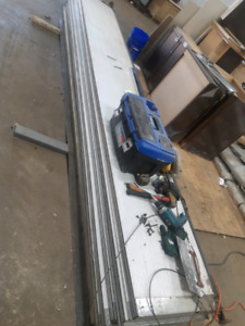 Overhead door panels