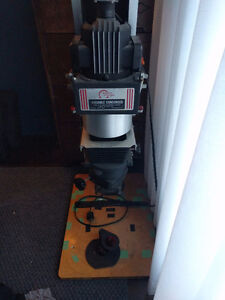 Large medium format enlarger perfect working condition