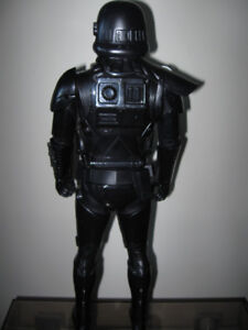 "Star Wars Rogue One 18"" Death Trooper Action Figure + 2 vhs-$10"