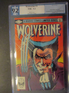 Set of 6 Wolverine Limited series PGX  Certified NM 9.2